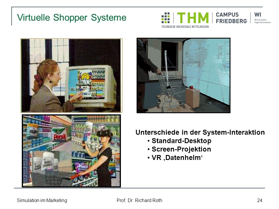 Unterschiede in der System-Interaktion
