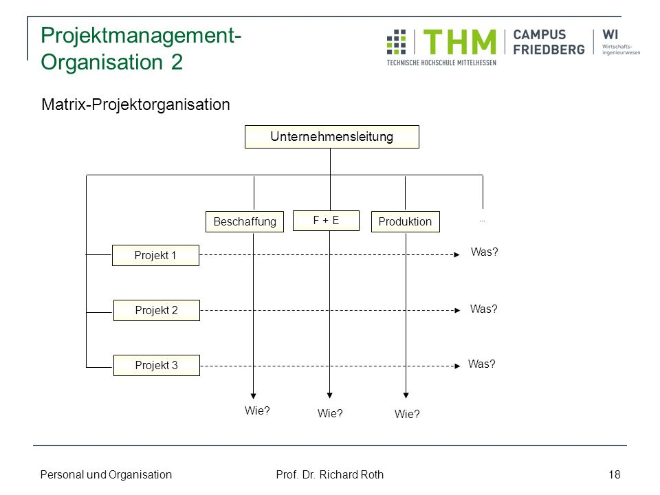 Projektmanagement-Organisation 2