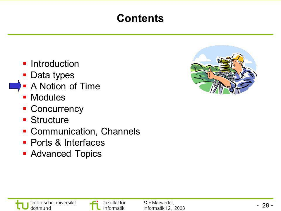 Contents Introduction Data types A Notion of Time Modules Concurrency
