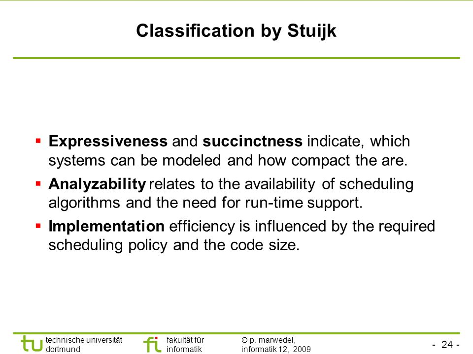Classification by Stuijk