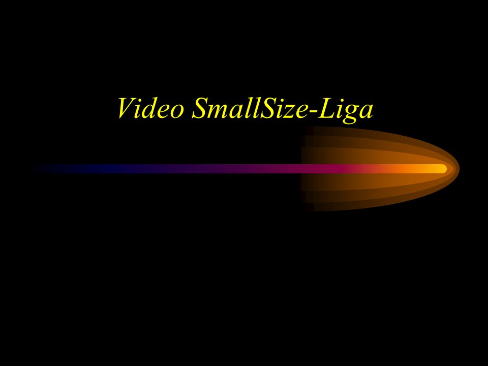 Video SmallSize-Liga