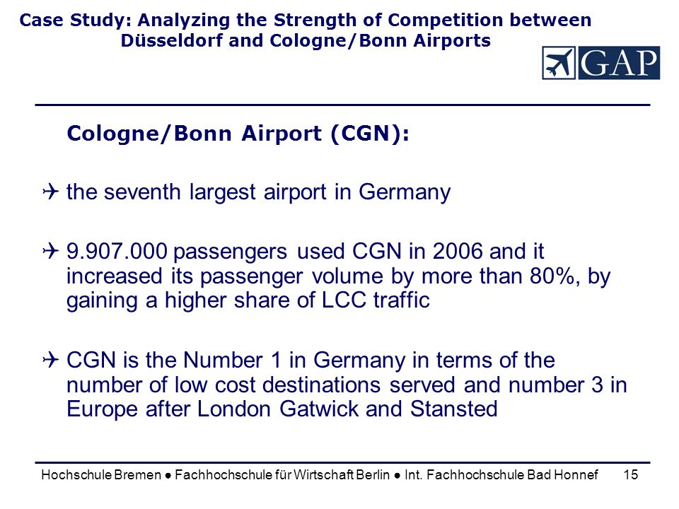 the seventh largest airport in Germany