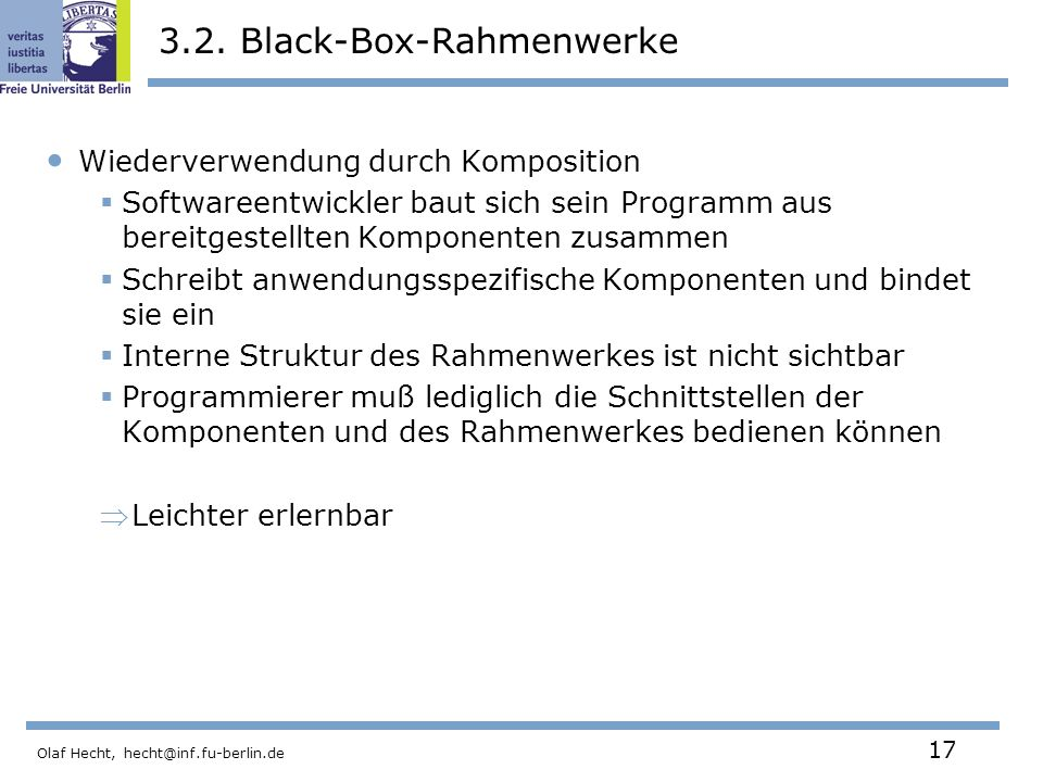 3.2. Black-Box-Rahmenwerke
