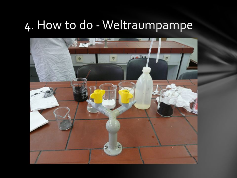 4. How to do - Weltraumpampe