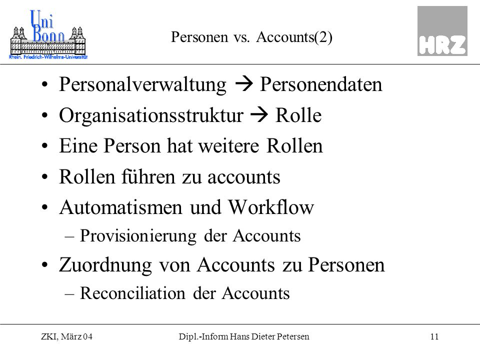 Personen vs. Accounts(2)