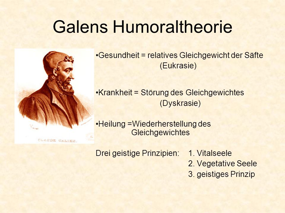 Galens Humoraltheorie