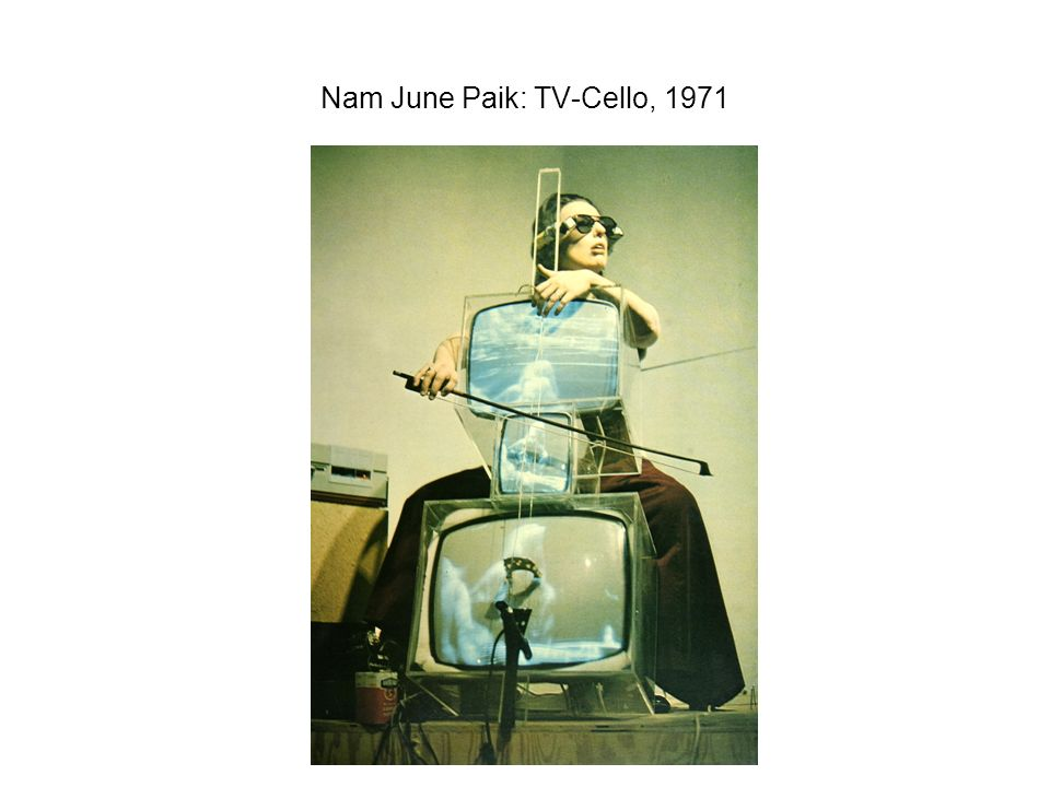 Nam June Paik: TV-Cello, 1971