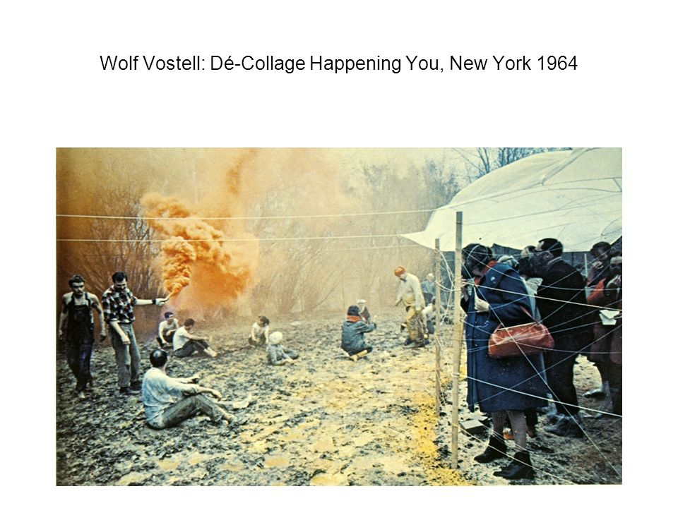 Wolf Vostell: Dé-Collage Happening You, New York 1964
