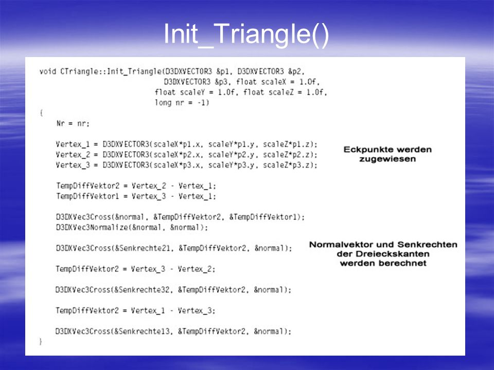 Init_Triangle()