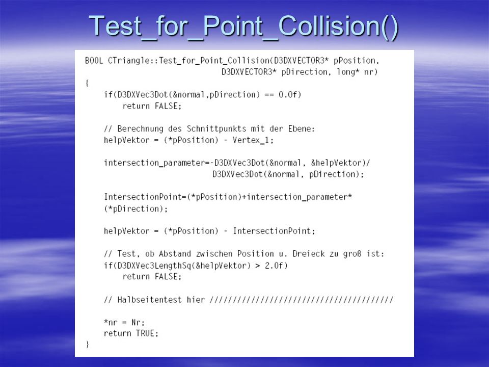 Test_for_Point_Collision()