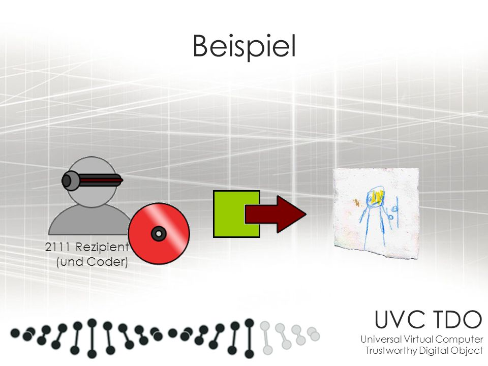 Beispiel UVC TDO Universal Virtual Computer Trustworthy Digital Object