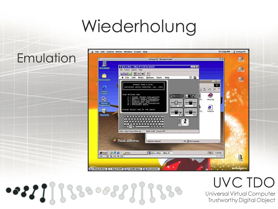UVC TDO Universal Virtual Computer Trustworthy Digital Object
