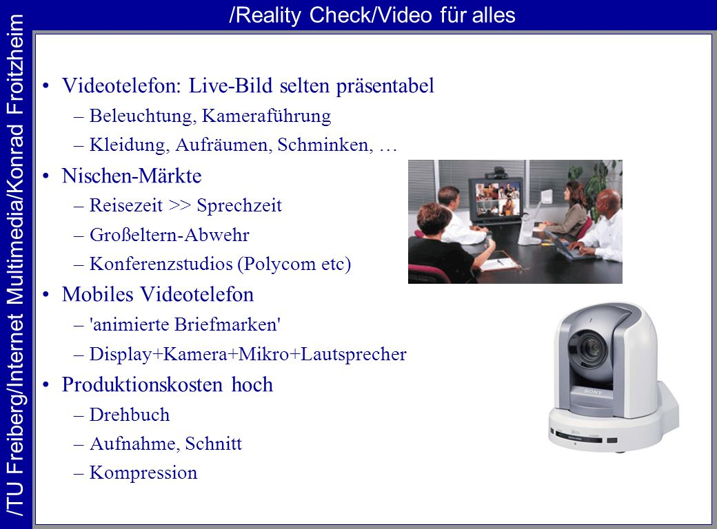 /Reality Check/Video für alles