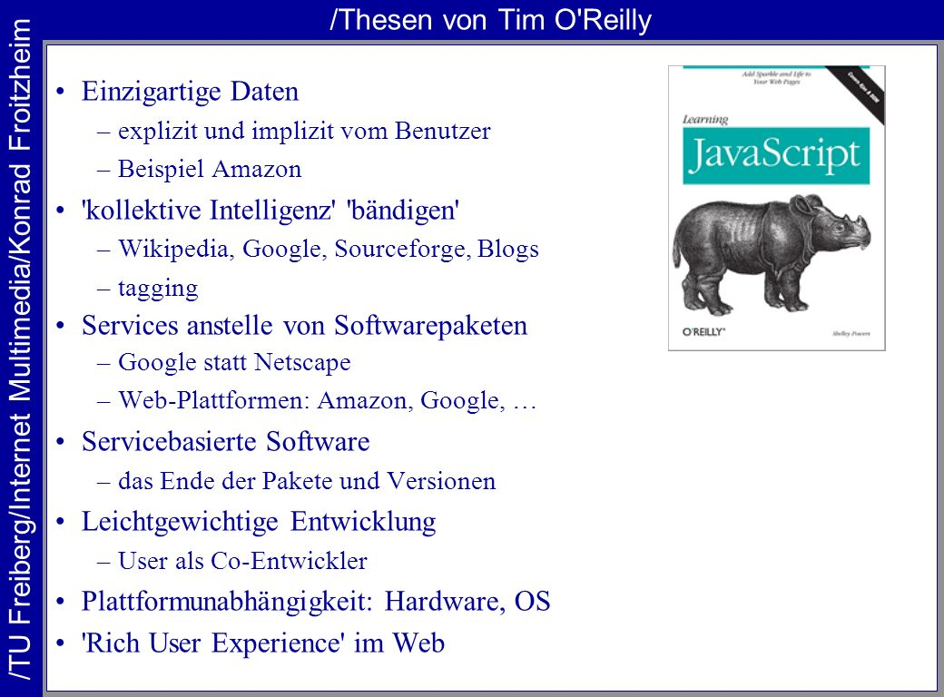 /Thesen von Tim O Reilly