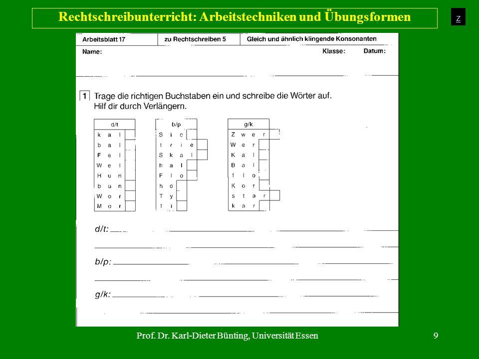Rechtschreibunterricht: Arbeitstechniken und Übungsformen - ppt ...
