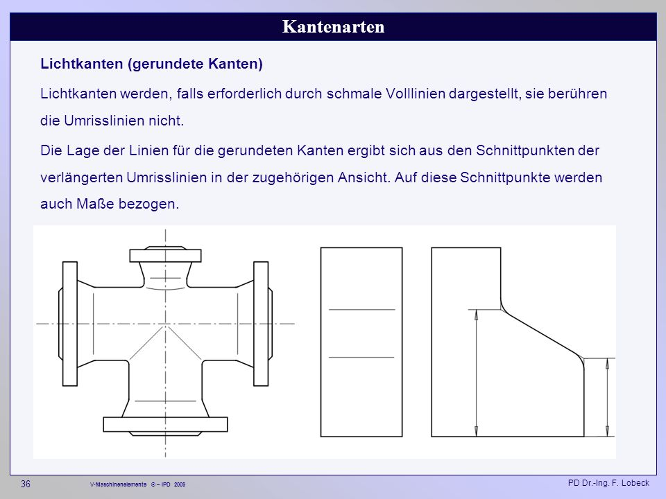 Konstruktionslehre I (Technische Darstellung / CAD) - ppt video ...