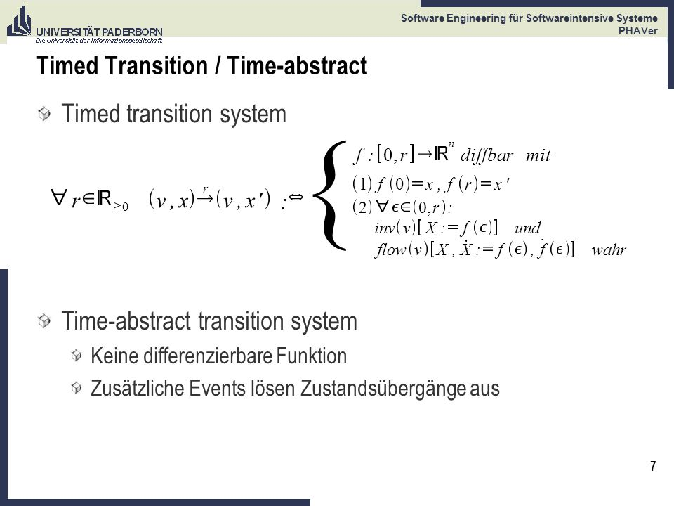 Timed Transition / Time-abstract
