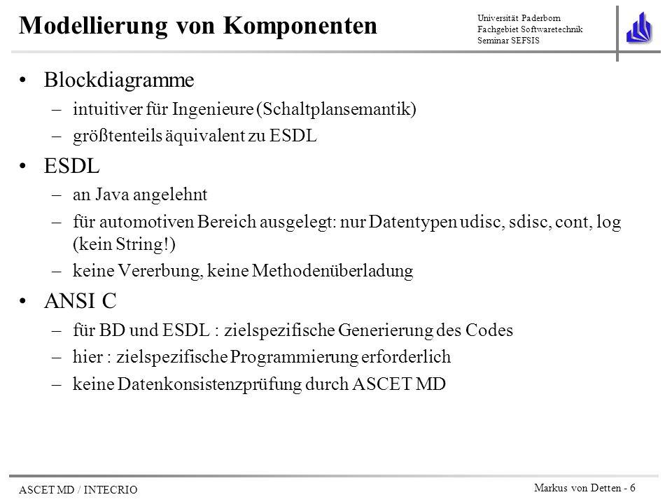 Seminar Software-Engineering für softwareintensive Systeme - ppt ...