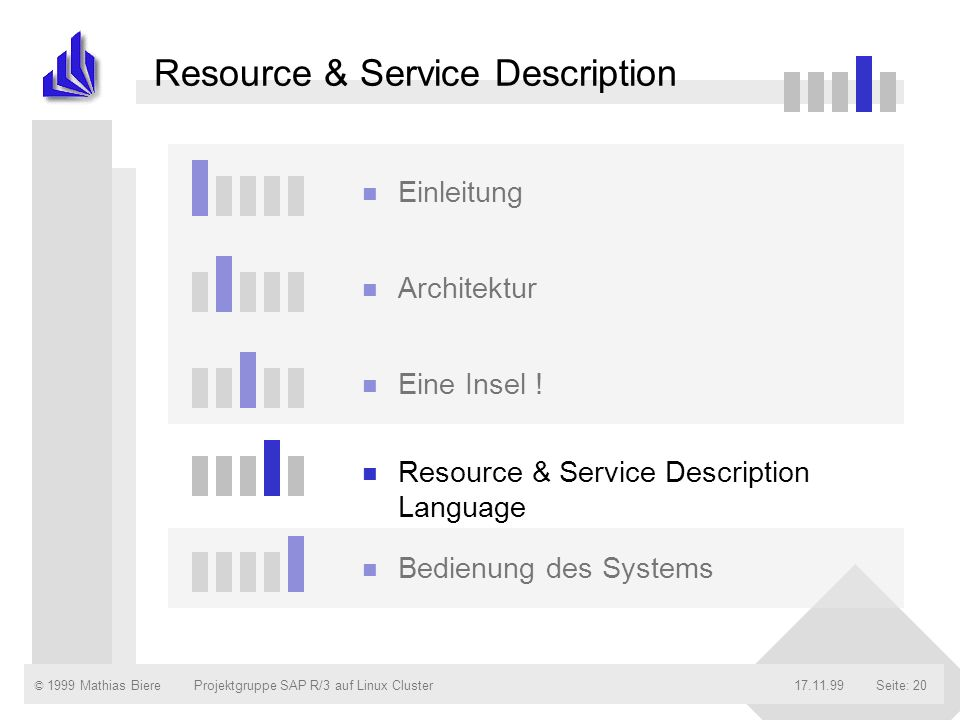 Resource & Service Description