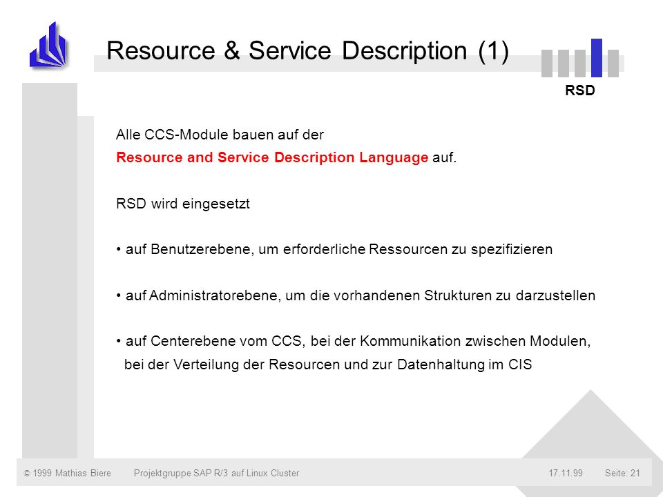 Resource & Service Description (1)