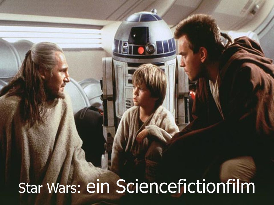 Star Wars: ein Sciencefictionfilm