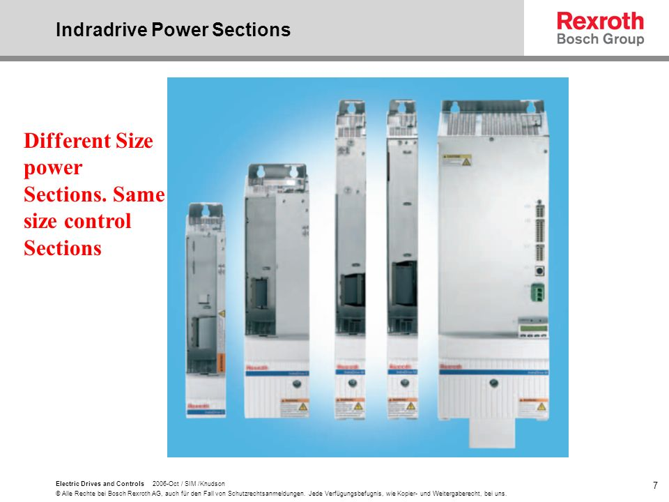 Indradrive Power Sections
