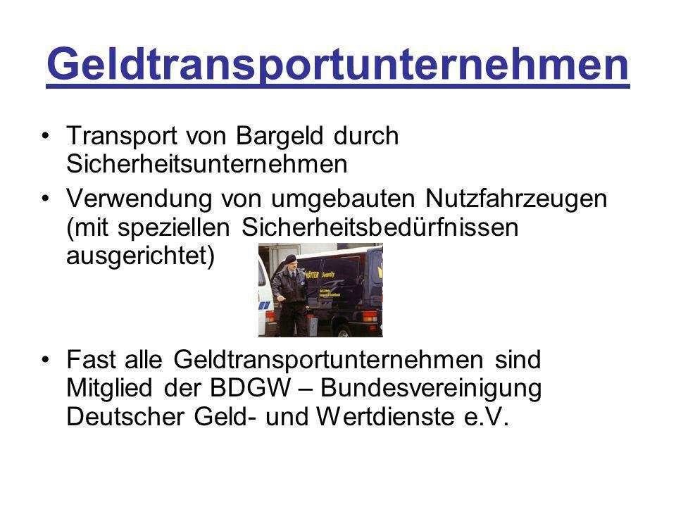 Geldtransportunternehmen