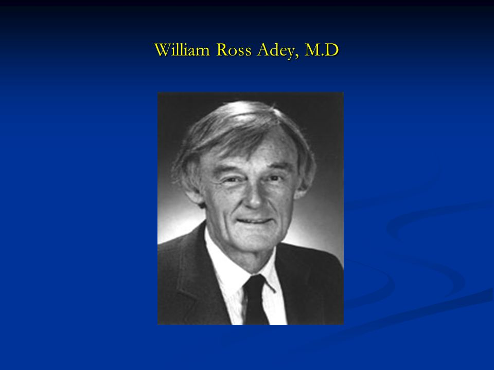 William Ross Adey, M.D