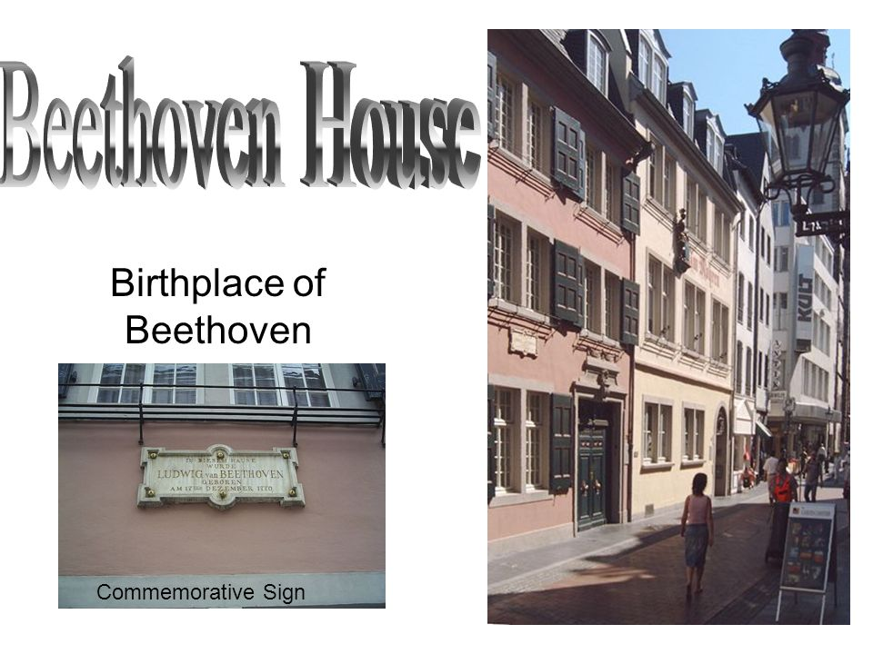 Birthplace of Beethoven