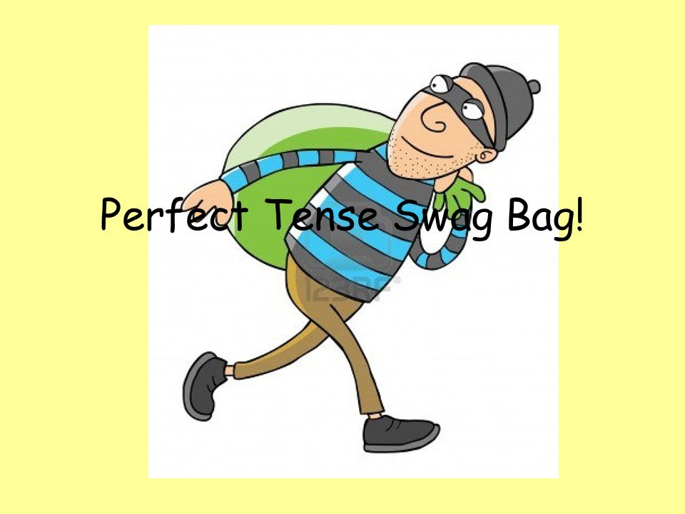 Perfect Tense Swag Bag!