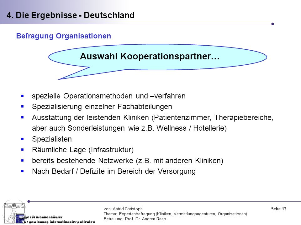 Auswahl Kooperationspartner…