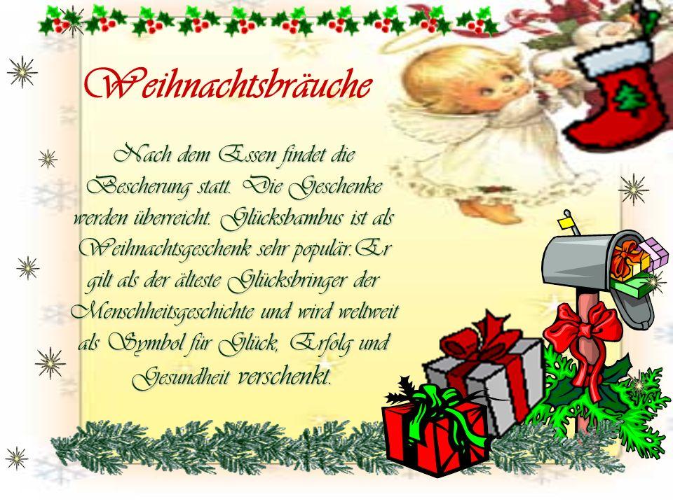 Рождественская открытка на немецком языке, аист двойня