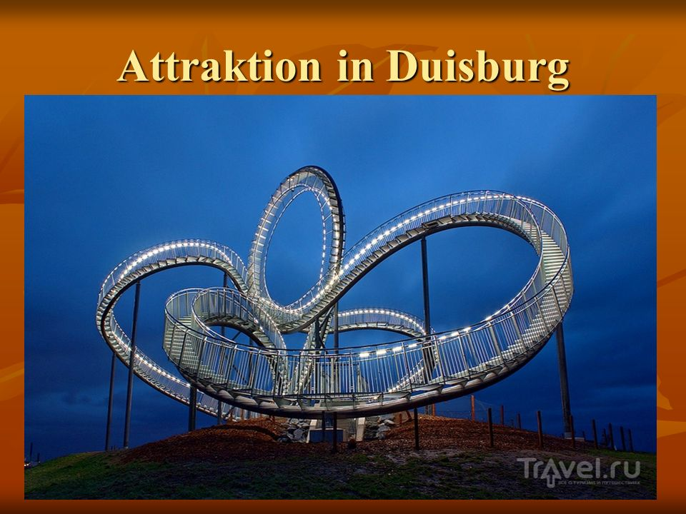 Attraktion in Duisburg