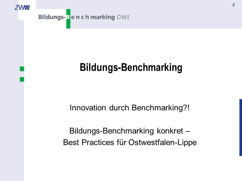 Bildungs-Benchmarking