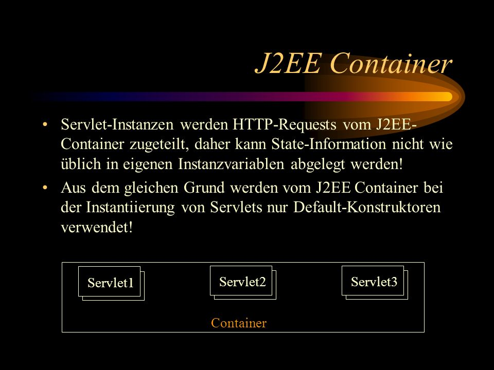 J2EE Container