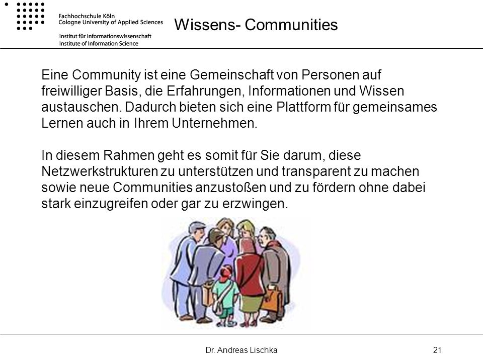Wissens- Communities
