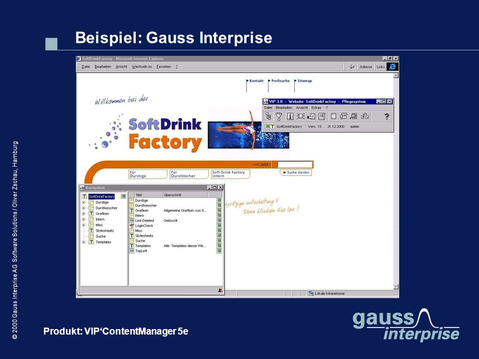 Beispiel: Gauss Interprise