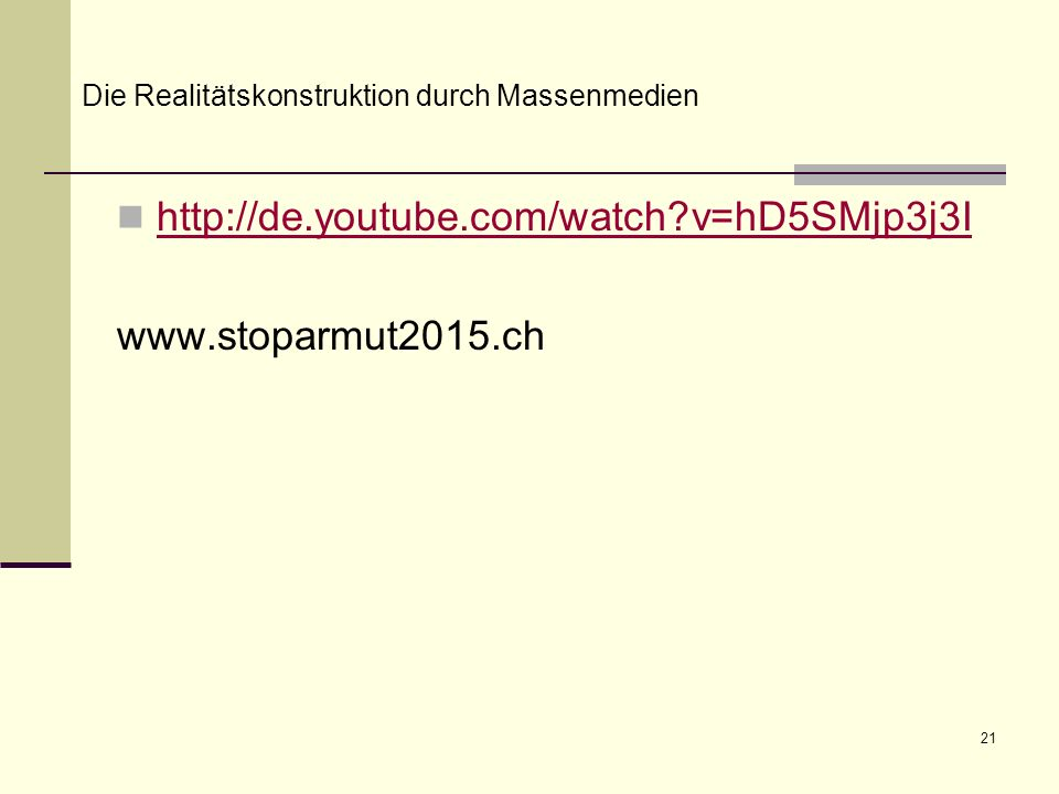 http://de.youtube.com/watch v=hD5SMjp3j3I www.stoparmut2015.ch