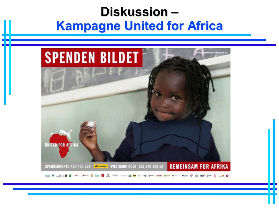 Diskussion – Kampagne United for Africa