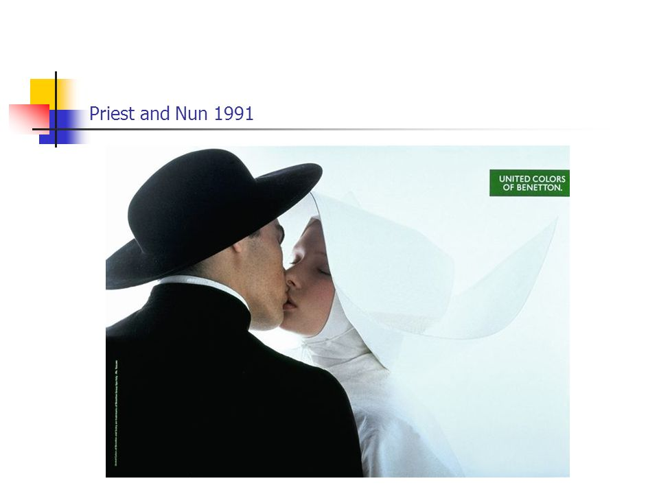 Priest and Nun 1991