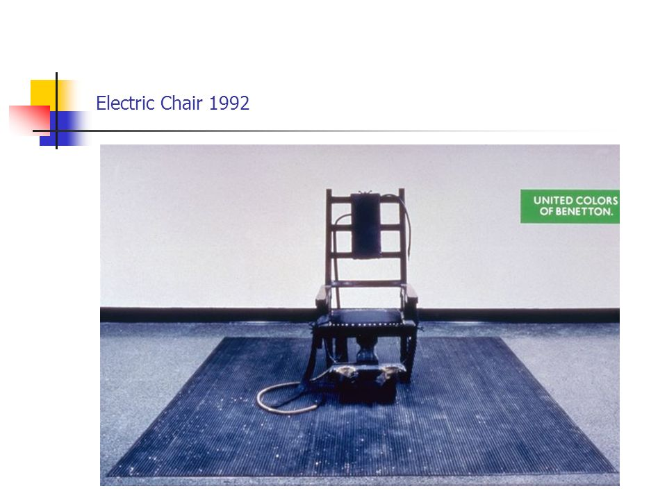 Electric Chair 1992