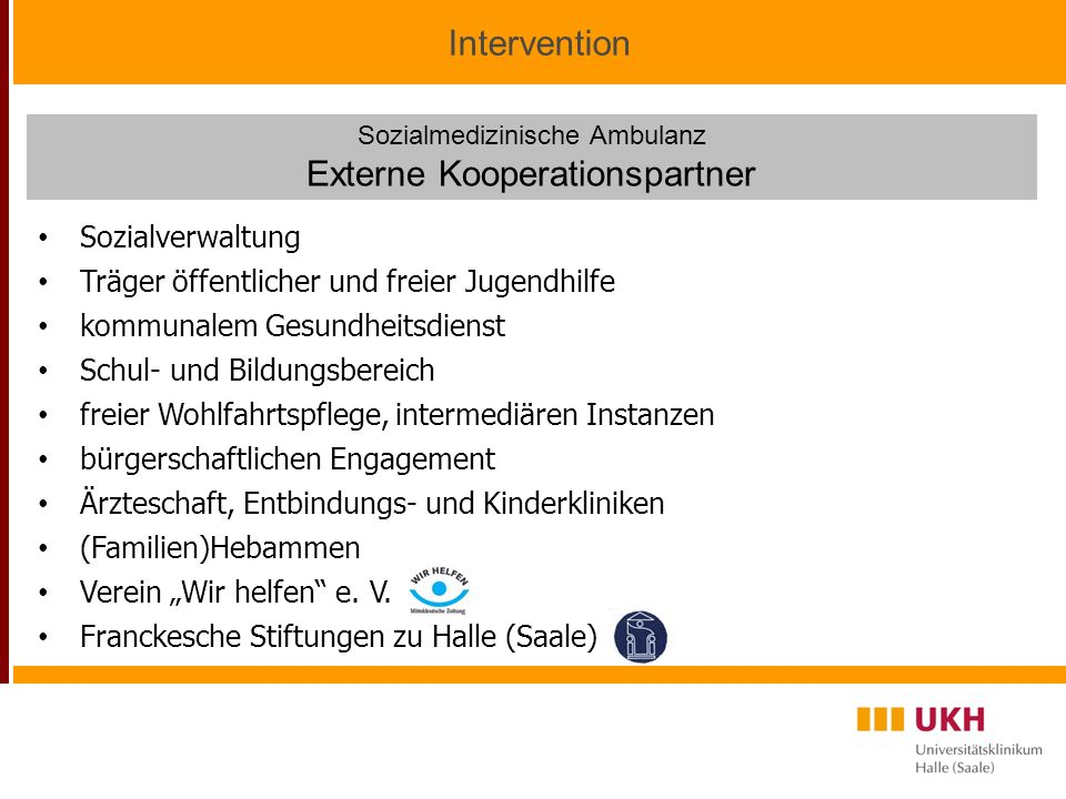 Externe Kooperationspartner