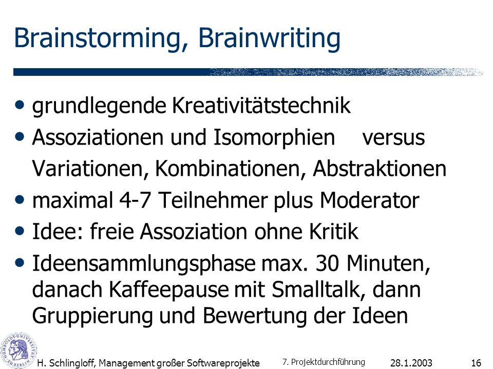 Brainstorming, Brainwriting