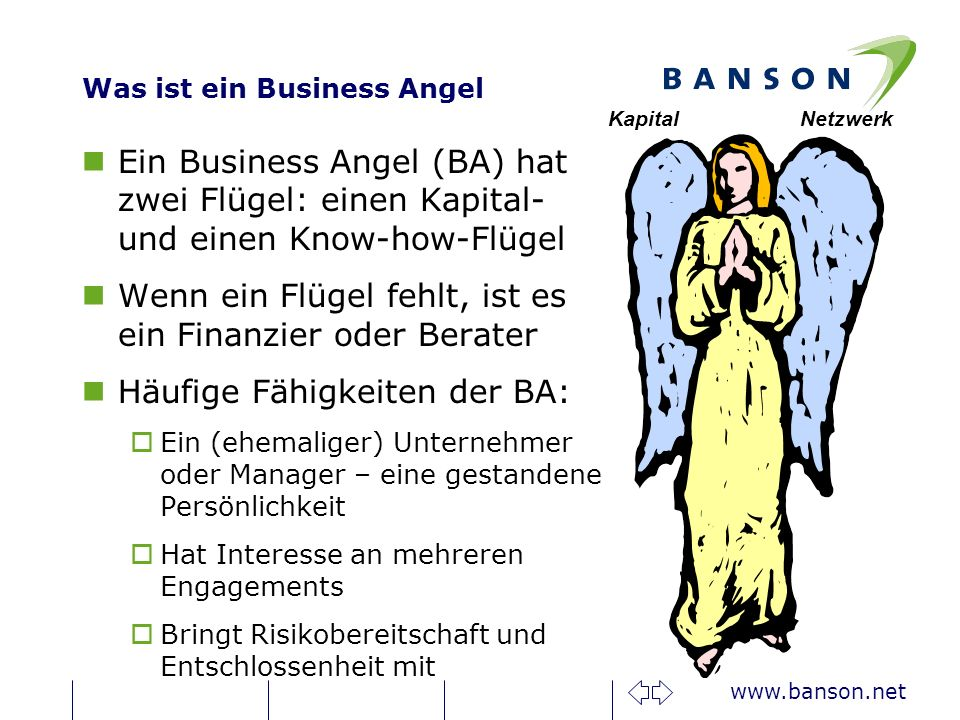Was ist ein Business Angel