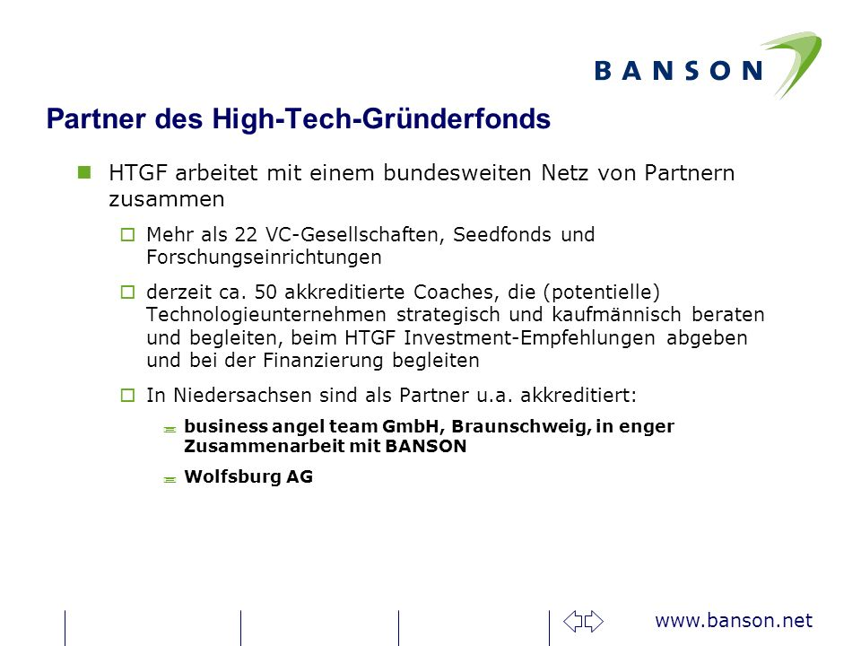 Partner des High-Tech-Gründerfonds