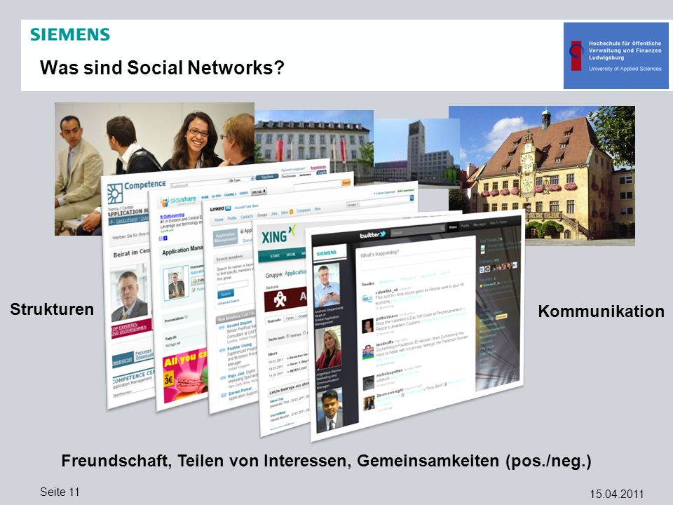 Was sind Social Networks