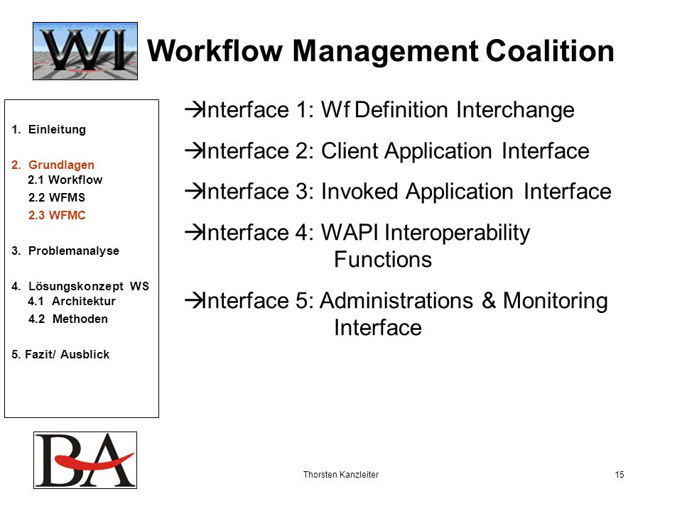 Workflow Management Coalition