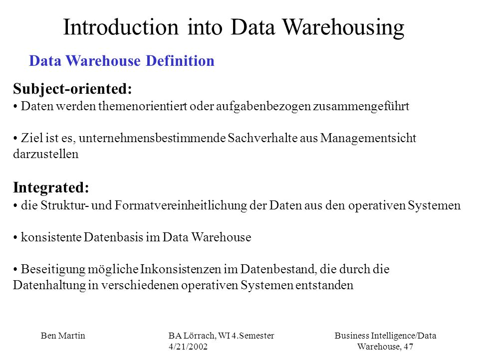 literature review data warehousing The literature of a literature review refers to any collection of materials on a topic, not necessarily the great literary texts of the world literature could be anything from a set of government pamphlets on british colonial methods in africa to scholarly articles on the treatment of a torn acl.