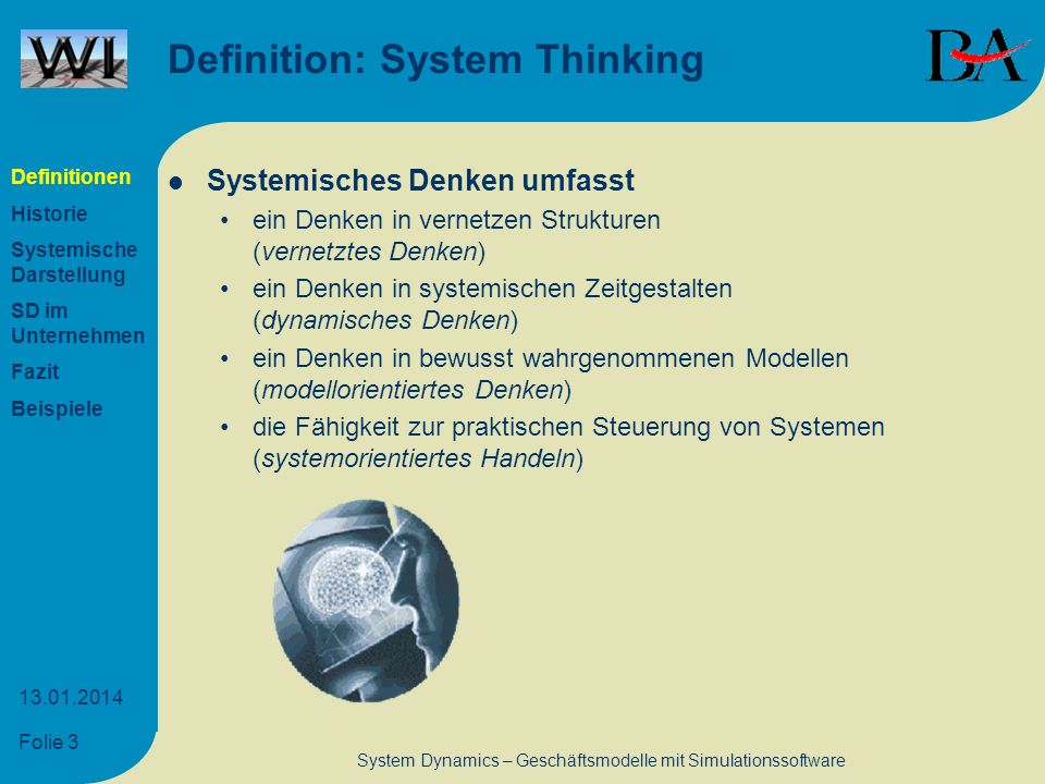 Definition: System Thinking