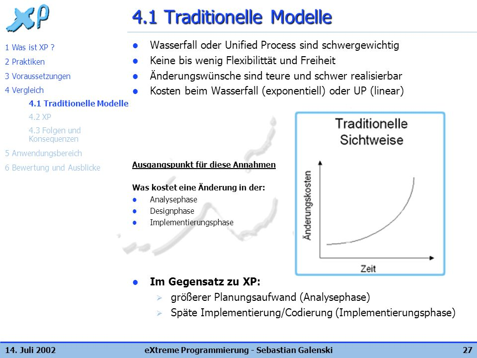 4.1 Traditionelle Modelle